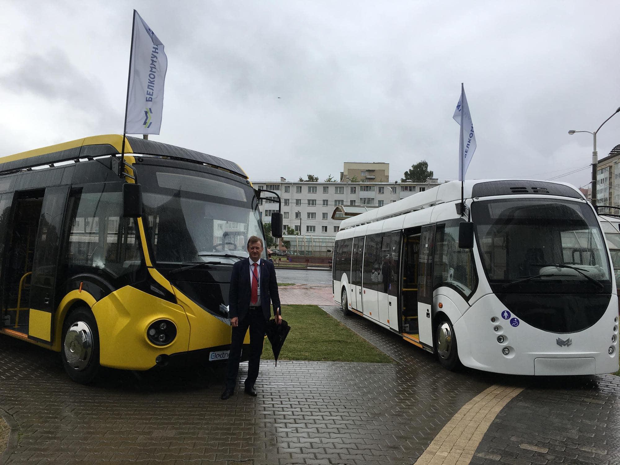 PGM rozwija współpracę z Białoruskim producentem autobusów elektrycznych
