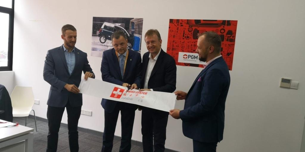 Polska Grupa Motoryzacyjna i PIMOT otworzyły w Szanghaju swoje biuro