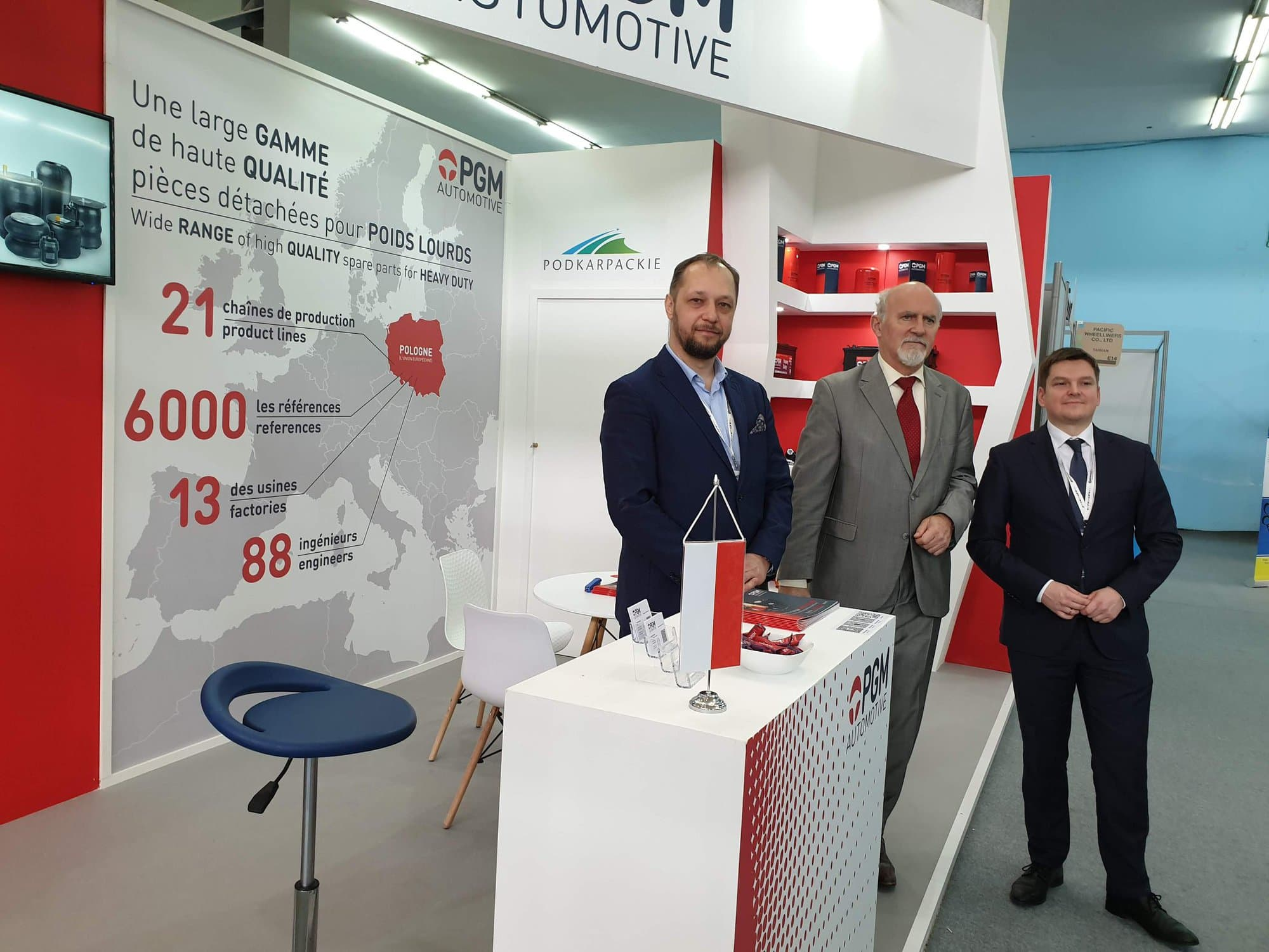 PGM at the EQUIP AUTO ALGERIA 2020 fair