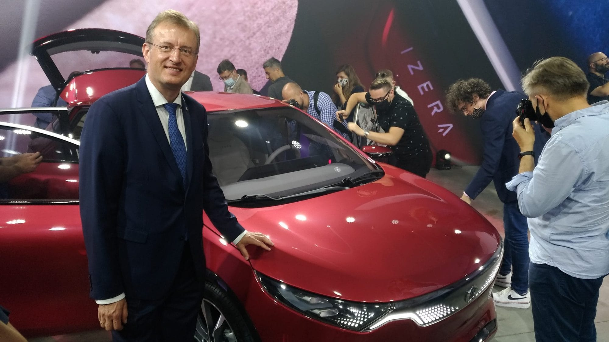 PGM participated in the premiere of the Polish electric car