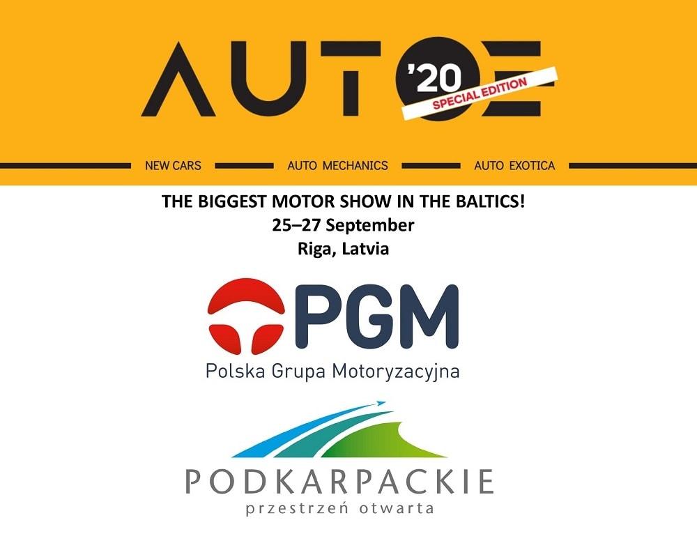 PGM at Auto 2020 fairs in Riga