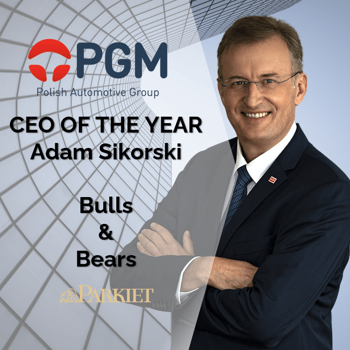 CEO of the Year – Adam Sikorski awarded for achievements and successes in 2020