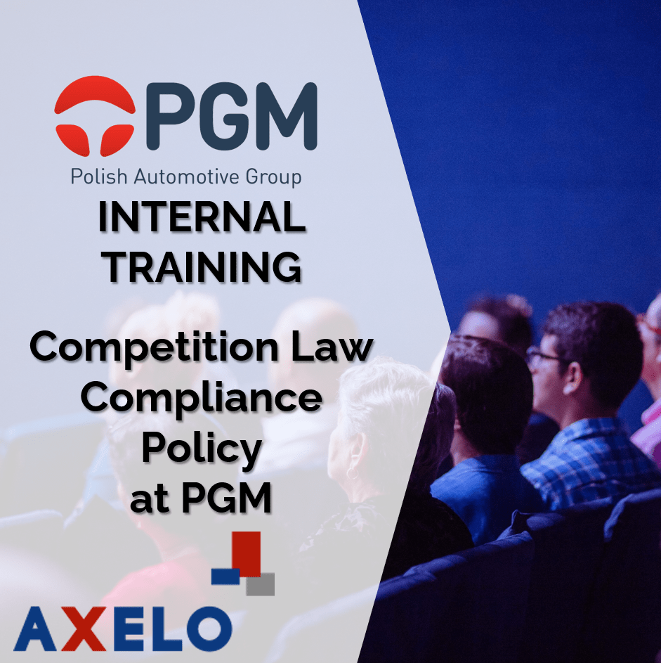 Competition law compliance policy<p>in the Polish Automotive Group