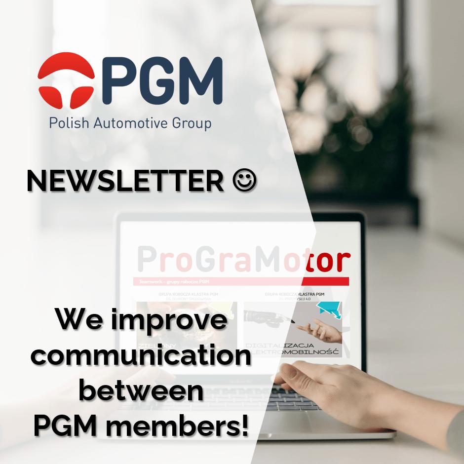 We improve communication between PGM members!