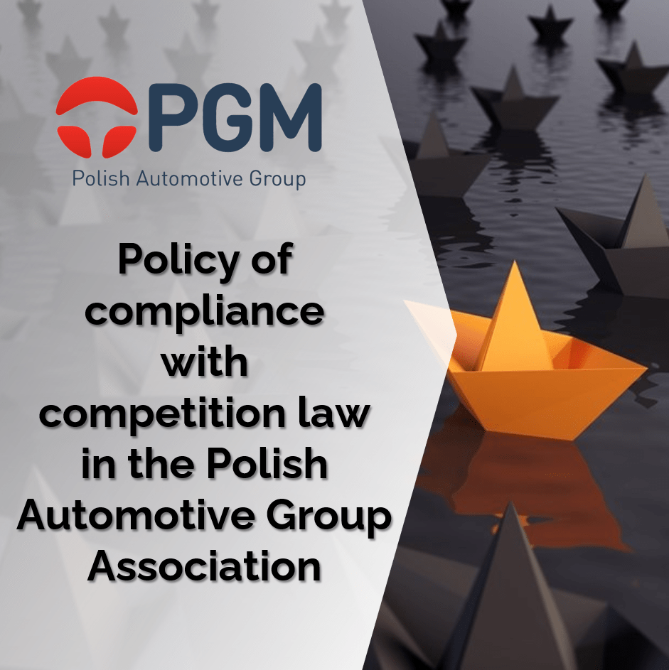 Policy of compliance with competition law