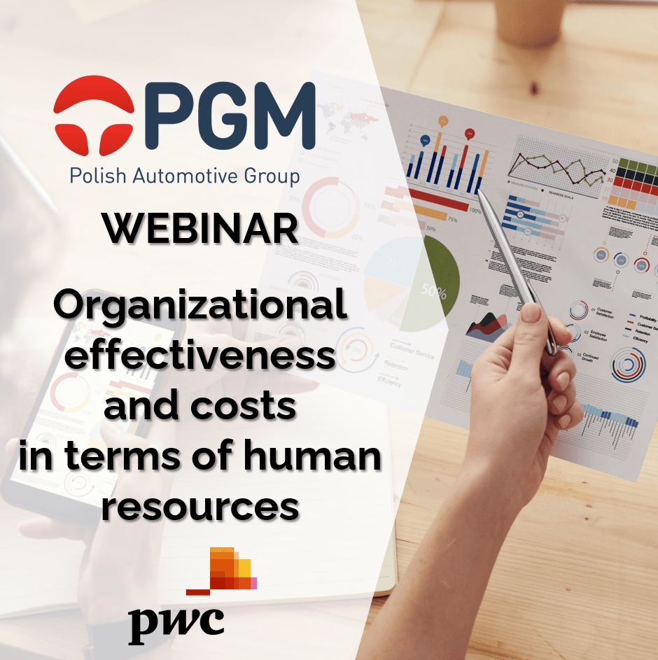 Cost and organizational effectiveness in human recources area