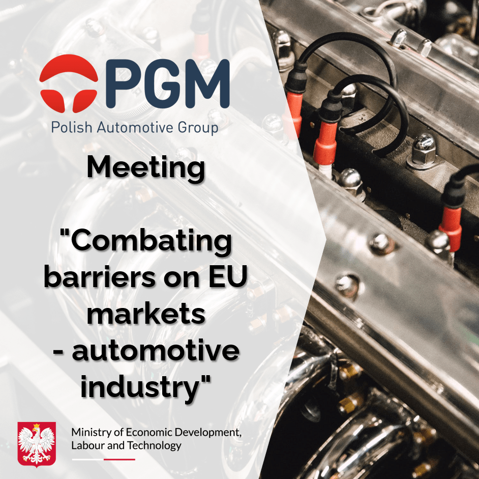 Combating barriers on EU markets automotive industry