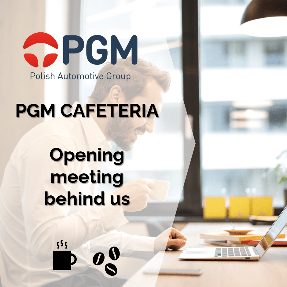PGM Cafeteria – online working meetings for the management of companies from PGM